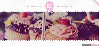 5 Wordpress Cake Shop Website Templates Andy Powell