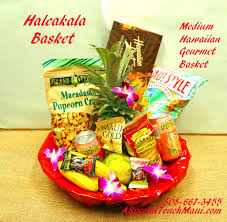 item for full view please order in advance haleakala um sized hawaiian fruit and hawaiian gourmet gift basket 89 95