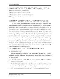 energy conservation report in pdf energy conservation
