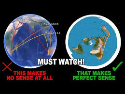 Flat Earth Flight Patterns Magnificent Flight Paths Debunked The Globe Model And Prove The Flat Earth The