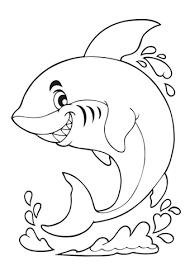 Kleurplaat Haai 60 Leuke Kleurplaten Van Haaien Tijd Met Kinderen