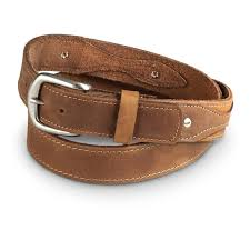 guide gear men s ranger 1 5 leather belt
