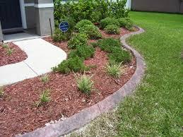 Image of: Precast Concrete Landscape Curbing