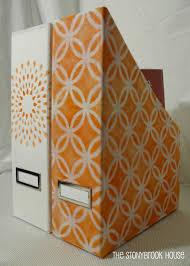 Fabric Magazine Holder DIY Disasterugh The Stonybrook House 23
