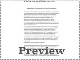 software piracy and its effects essay homework help software piracy and its effects essay open document below is an essay on software license