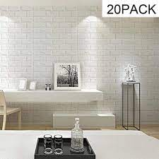 Buy 3D Brick Wall Sticker Self Adhesive ...