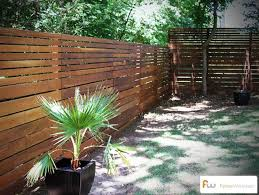horizontal fence styles. This Modern Horizontal Board Fence Style Was Made From Imported Ironwood Lumber (one Of The Hardest Know Wood Species). #modern #fence #design Styles
