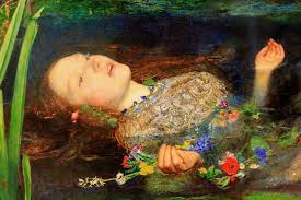 as millais painted many many portraits of women this is more typical of his style than christ in the house of his pas the carpenter s is