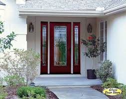painted double front door. New Ideas Painted Double Front Door With Saratoga Glass Insert In Fiberglass N