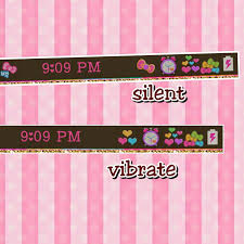 pink theme cool bar. rainbow hearts_ color status bar theme pink cool
