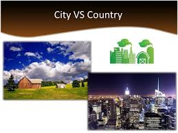 living in the city versus country 4