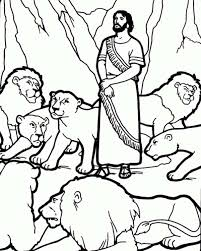 Small Picture Daniel and the Lions Den Picture Coloring Page NetArt