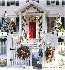 a whole bunch of christmas porch decorating ideas style estate