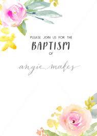 Baptism Invitation Template Download Baptism Invitation Download