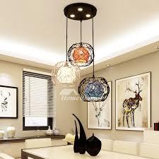 wrought iron pendant lighting 3 light