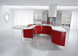 Red White Kitchen Kitchen Cool Red Kitchen Design With Red Gloss Wood Kitchen