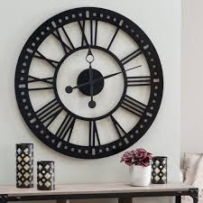 luxury wall clock art 30 large that don t compromise on style design deco and craft