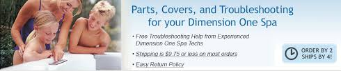 dimension one spa parts d hot tub replacement parts easy spa parts