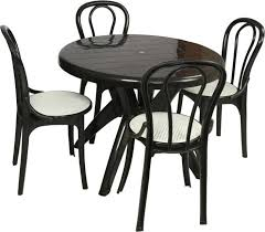 garden table and chair sets india. supreme black plastic table \u0026 chair set garden and sets india
