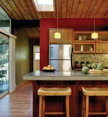 Red Wall Kitchen Feng Shui Kitchen With Red Walls And Wooden Ceiling Feng Shui