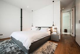 21 examples of bedrooms with bedside pendant lights contemporist inside for bedroom plan 3