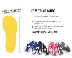 Small Talk New Balance Size Guide