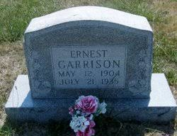 Ernest Garrison (1904-1935) - Find A Grave Memorial