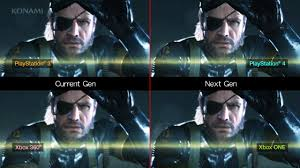 Metal Gear Solid 5 Xbox One Vs Ps4 Graphics