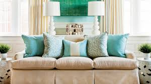Couch pillow ideas Modern Southern Living How To Arrange Sofa Pillows Southern Living