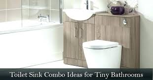 toilet sink combination combo ideas for tiny bathrooms that you will fall combined and basin vanity