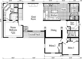 ranch house floor plans. davenport ii model hf114-a ranch home - floor plan house plans r