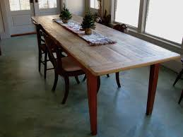 large dining table. Long Rustic Dining Table With Painted Base Lake And Mountain Home Large