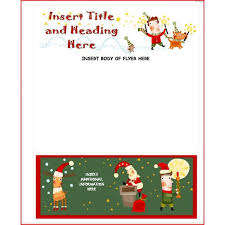 Word Template Flyer Free Christmas Brochure Templates Free