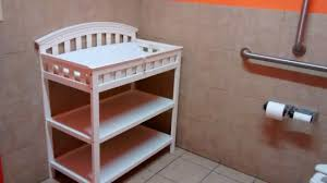 bathroom changing table. Antigua Bohemia Bar \u0026 Restaurant: Changing Table Inside Women\u0027s Bathroom H