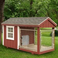 homemade dog kennels 2. 4 X 8 Ft Amish Made Dog Kennel Homemade Kennels 2