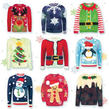 Christmas Jumpers (pack of 5)   Pack of Five Cards   Weldmar Hospicecare