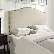 Linen Queen/Full Size Upholstered Headboard - Free Shipping Today -  Overstock.com - 16212961