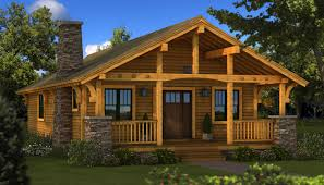 Small Picture Bungalow Log Home Plan Southland Log Homes Great single story