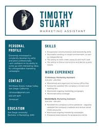 Blue Simple Modern Resume