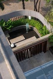 Small Picture Corner Of The House Garden Fish Pond Design a Private Residence in