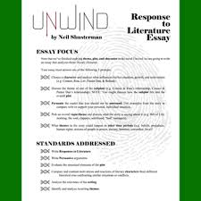 unwind essay prompts quotes trackers w grading rubrics tpt unwind essay prompts quotes trackers w grading rubrics