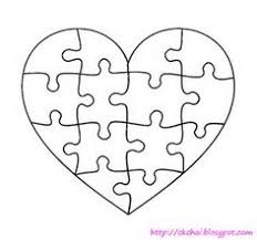 Blank Puzzle - 9 Pieces | Grade 2 Ideas | Pinterest | Card Stock ...