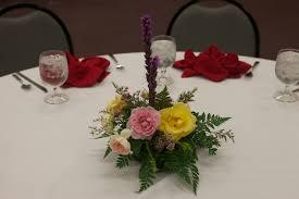 Dinner flower arrangements | Eleanor Ramage made MORE arrang… | Flickr
