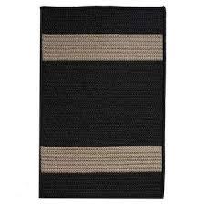 black outdoor rugs
