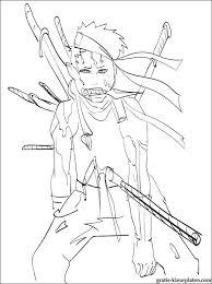 Naruto Zabuza Momochi Kleurplaten Gratis Kleurplaten