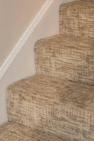 stairs carpet pattern tailored verona serenity tan brown cream taupe