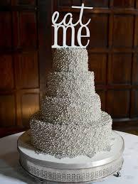 Silver Balls For Cake Decorating Beauteous Wedding Cakes Sherry Hostler Cake Artistry