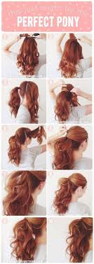 5 Minute Hairstyles For Girls Best 25 Easy Ponytail Hairstyles Ideas On Pinterest Easy Hair