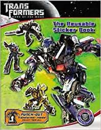 Transformers Dark of the Moon: The Reusable Sticker ... - Amazon.com