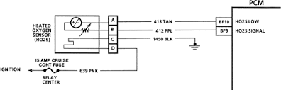 repair guides electronic engine controls oxygen sensor (o2 4 wire proximity switch wiring diagram at 4 Wire Sensor Diagram